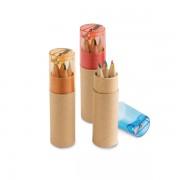 Caja con 6 lápices de color ROLS