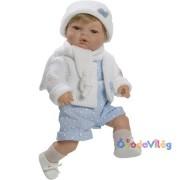 Raul játékbaba kék ruhában-Berbesa