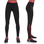 Bas black Dámské Sportovní Legíny Bas Black Inspire Černo-Růžová L