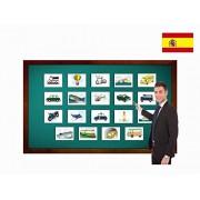 Tarjetas De Vocabulario Transporte Transportation Flashcards In Spanish