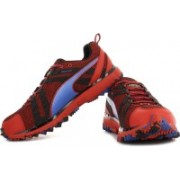 Puma Faas 500 TR v2 high risk red-black-stron Running Shoes For Men(Black, Blue, Red)