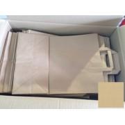 Papír tasak szalagfüles 220+100x280mm