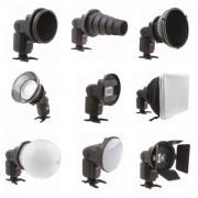 Set strobist universal SGA-K9 Falcon Eyes