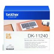 Brother DK11240 papírszalag, 102x51mm, 600 címke/tekercs