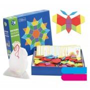 Tangram rompecabezas niños y niñas 4-7 de educación temprana de madera juguetes educativos bloques de construcción de regalo de los niños