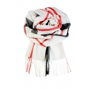 Bolzano Trend pašmínový šál bílá