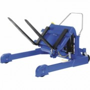 Vestil Tilt Master Straddle - Air/Oil-Powered, 6,000-lb. Capacity, Model TMS-60-AIR