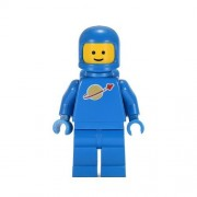 Lego Classic Vintage Blue 1980 Something Space Guy Not Benny Minifigure