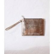 Etam Sac pochette 'feel free' - GLITTER - TU - Doré - Femme - Etam