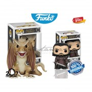 Set Jon Snow Y Viserion Game Of Thrones Funko Pop Original Serie