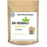 Sai Herbals Pure Organic Sandalwood Powder for Skin Whitening Chandan Powder - 100gms.