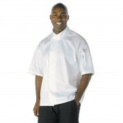 Chef Works Unisex Tours Cool Vent Executive Chefs Jacket L Size: L