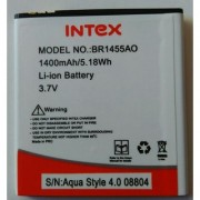 Replacement BR1455AO Battery For INTEX AQUA STYLE 40 1400mAh518Wh