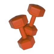 Plastic dumbell 4 kg (par)