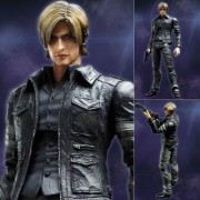 Square Enix Play Arts Kai - Resident Evil 6: Leon S. Kennedy Action Figure