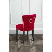 My-Furniture POSITANO -Esszimmerstuhl mit Rückenring - Cranberry