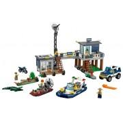 Set 60069-G - Town: Swamp Police Station- gebruikt