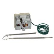 Termostat siguranta trifazic 230*C 3 poli 2x20/1x0.5A bulb Ø4mmx120mm capilar 900mm #375445 / 375359 375445