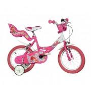 Bicicleta pentru fetite Winx diametru 14 inch