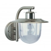 Buitenlamp 7026 RVS met glas