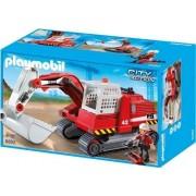 Playmobil 5282 - Excavatrice Et Ouvrier