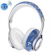 Bluedio A2 Twistable Wireless Bluetooth 4.2 muziek hoofdtelefoon stereoheadset met microfoon voor iPhone Samsung Huawei Xiaomi HTC en andere Smartphones alle Audio Devices(White)