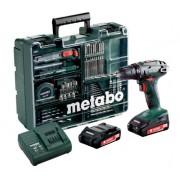 Винтоверт акумулаторен, METABO BS 18 SET, 18V, 48Nm, 2x2.0AH (602207880)
