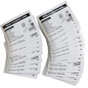 Conf. carte di pulizia 50 pz per tutte le stampanti