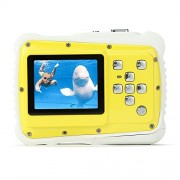 "PELLOR Waterproof Sport Action Camera Kids Camera Camcorder 8M Pixels (Yellow, Screen: 2"")"