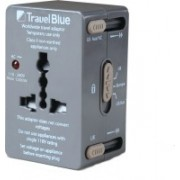 Travel Blue All-In-One Adaptor - For 152 Countries(Grey)