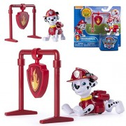Spin Master Paw Patrol - Selection Action Pack Pups Deluxe Figure Pull Back, Maja: Marshall