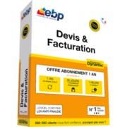 Offre exclusive - Office 365 Personnel + EBP Devis & Facturation DYNAMIC 12 mois + VIP 2018