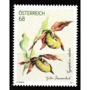 Austria 2017 Lady's Slipper Orchid Flora Flower Stamp 1v MNH