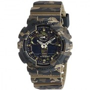G-Shock Analog-Digital Green Dial Mens Watch - Ga-100Cm-5Adr (G580)