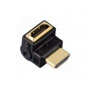 Hama ADAPTER KĄTOWY HDMI GN. 90 - HDMI WT.