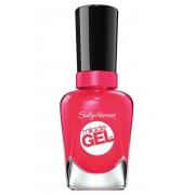 Sally hansen miracle gel colore e brillantezza con top coat 220/329 pink tank