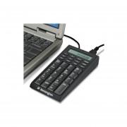 Teclado Numerico Kensington P8693 Con USB Y Calculadora-Negro
