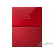 "Hard Disk extern WD My Passport 2,5"" 3TB USB3, rosu (WDBYFT0030BRD-WESN)"