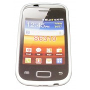 Силиконов гръб ТПУ за Samsung S6310 Galaxy Young Бял