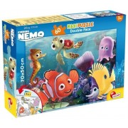 Puzzle maxi 2 in 1 - Finding Nemo, 60 piese