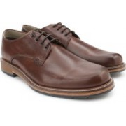 Clarks Arton Walk Mahogany Leather lace up For Men(Brown)