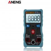 ANENG V02A Multímetro de datos NCV Digital LCD Probador de capacitancia de frecuencia CA / CC