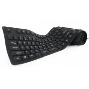KB-109F-B Gembird Fleksibilna tastatura US layot USB+microUSB OTF adapter