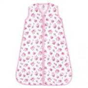 Luvable Friends Unisex Baby Safe Wearable Sleeping Bag/Sack/Blanket, Floral Muslin 1-Pack 6-12 Months