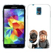 Husa Samsung Galaxy S5 Mini G800F Silicon Gel Tpu Model Bebelus Si Caine Aviatori