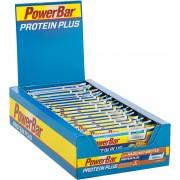 PowerBar Protein Plus Minerals Sportvoeding met basisprijs Hazelnut-Brittle 30 x 35g bruin/blauw 2018 Sportvoeding