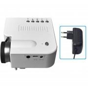 EW UC28B+ Inicio LED Mini proyector 1080P HD portátil de proyección de Teatro
