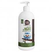Pure Bąbelkowy Żel do Mycia Ciała z Organicznym Rooibosem, 500ml- Pure Beginnings Organic Kids
