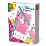 Детски комплект направи си сам Дизайнерскa тетрадкa SES, 0800105
