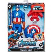 Capitan America con Escudo Avengers - Hasbro